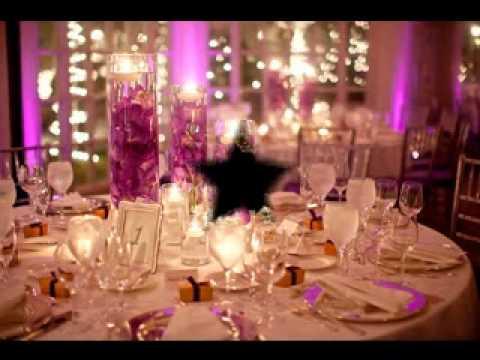 DIY Wedding reception decorating ideas - YouTube