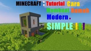 MINECRAFT: Tutorial Cara Membuat Rumah Kecil Modern - 2