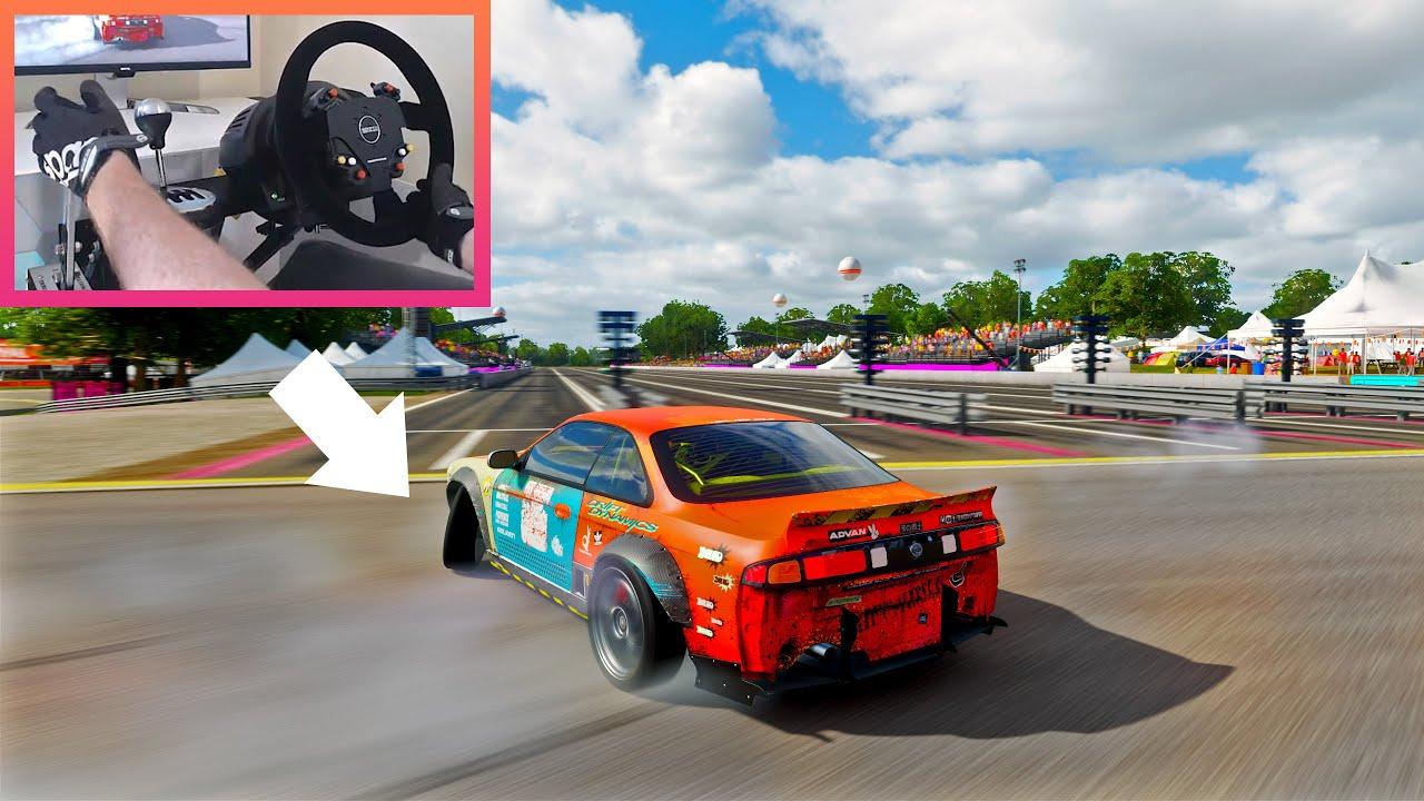 Download Best Drift Settings for Steering Wheel in Forza Horizon 4 (w/ Drift Tune)