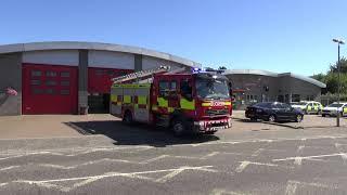 Suffolk Fire & Rescue Service- Newmarket PrT(10reg Volvo FL) Turnout June 2018