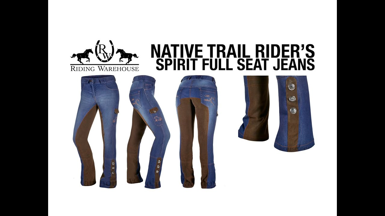 Download Native Trail Riders Spirit Full-Seat Jeans