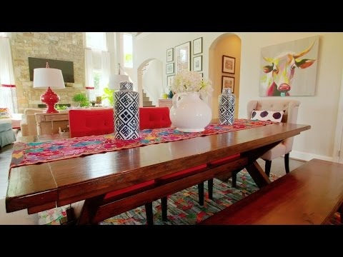 Color-Happy Country Living In Fort Worth Texas