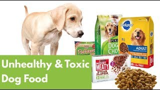 Worst Dog Food: 14 Unhealthy & Toxic Ingredients to Avoid