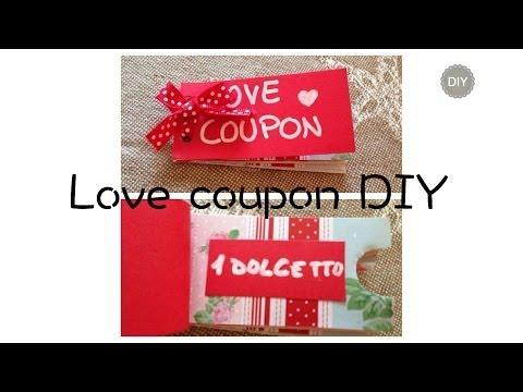 Love coupons | DIY gift