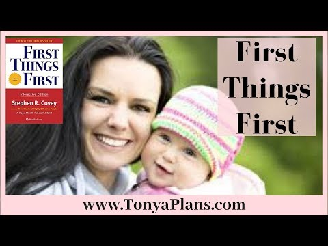 A Quick Review of First Things First by Stephen Covey!