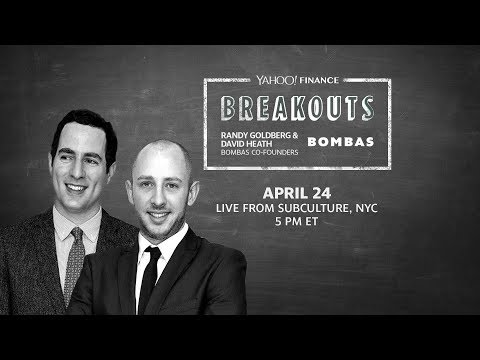 Yahoo Finance Breakouts presents Bombas Co-Founders Randy Goldberg & David Heath