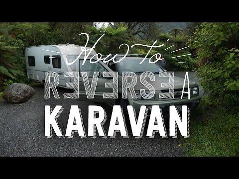 How to reverse a caravan