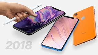 2018 iPhone 9/X Plus Leaks! Apple Pencil & 512GB Support!
