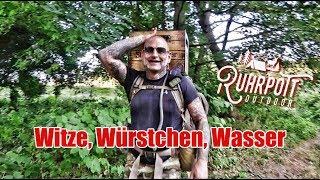 Witze, Würstchen, Wasser - Grillen am Fluß mit Ruhrpott Outdoor 1815