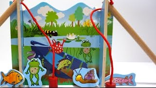 Fishing Game Toy Playset For Kids - Let's Go Fishing