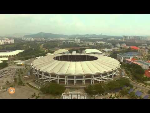 Aerial Videography - Stadium Nasional Bukit Jalil , Malaysia