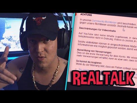 Video gesperrt? 🤔 Ansage an YouTube!   MontanaBlack Realtalk