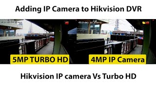 Hikvision IP camera Vs Turbo HD Camera screenshot 5