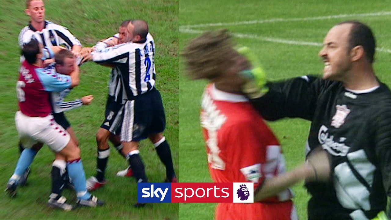 When Teammates Fight! | FIVE times Premier League footballers fell out on the pitch