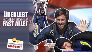 Max Giesinger soll Fallschirmspringen | XXL Prank | Verstehen Sie Spaß?