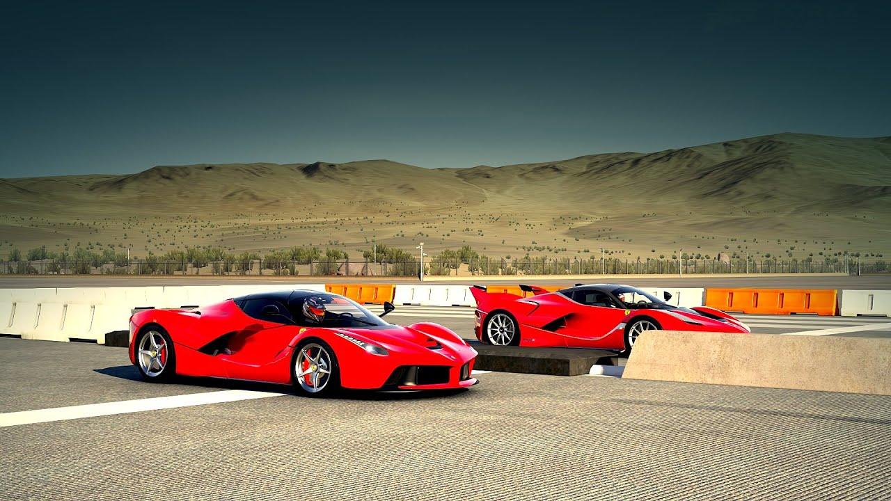 Laferrari Vs Ferrari Fxx K Drag Race Forza 6 Youtube