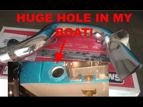 HOW TO INSTALL/REPLACE SURF PIPE for ski/wake boats