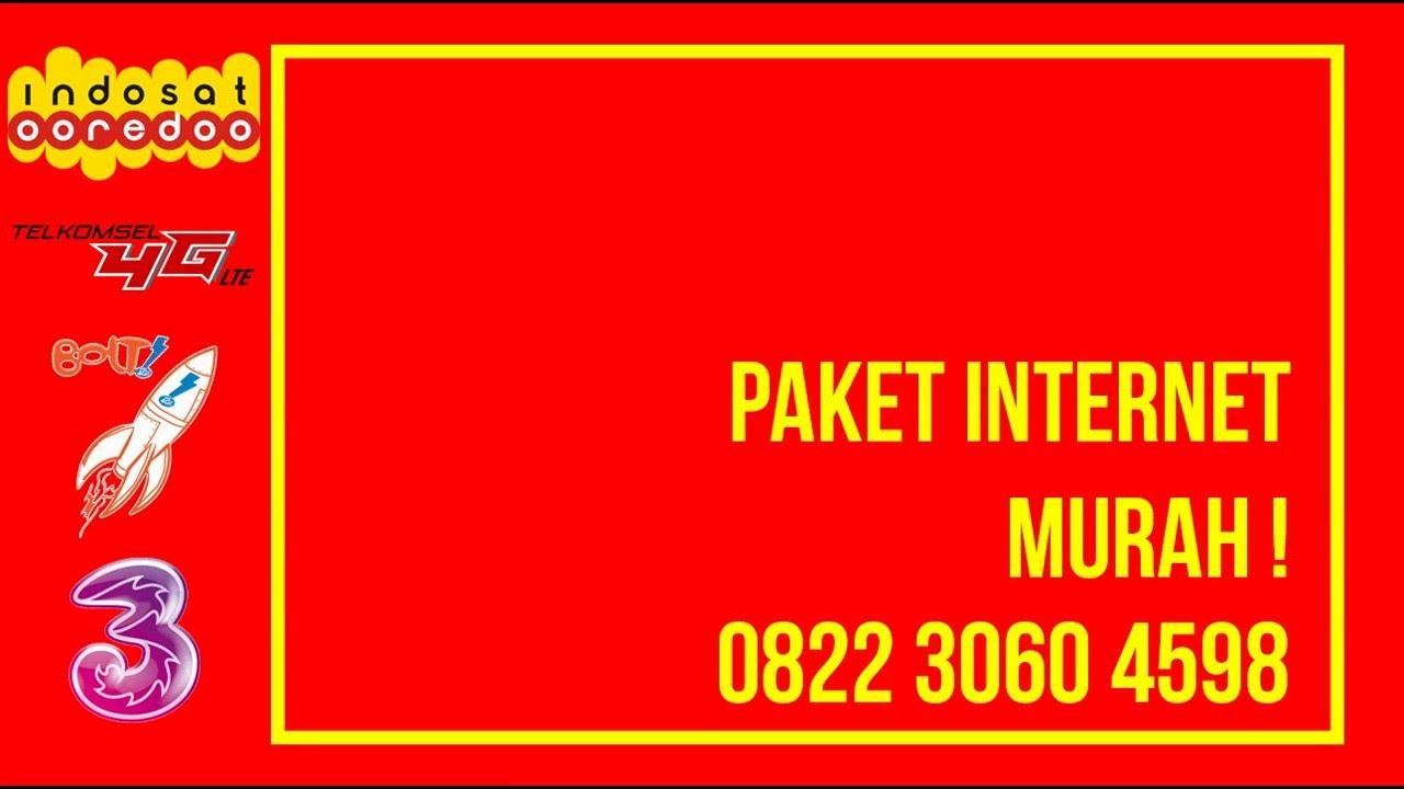 0822 3060 4598 Paket Internet Indosat Im3 Promo Paket Internet