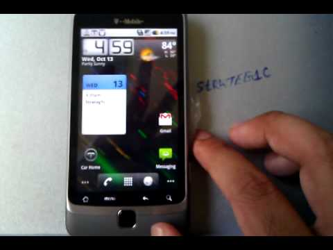 T-Mobile G2 - QUICK Walkthrough - HSPA Speed Test