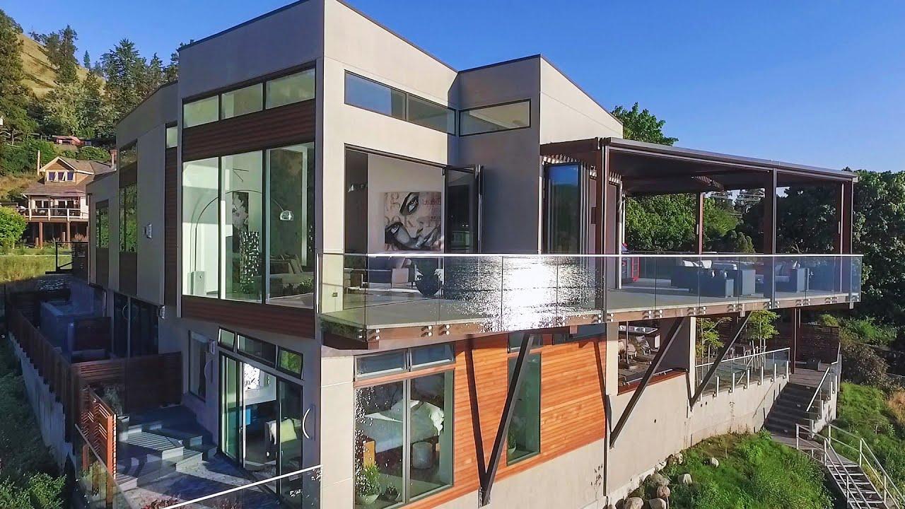 320 Poplar Point Drive Kelowna Luxury Real Estate Youtube