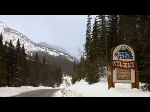 Sunshine Village Ski Resort - Alberta, Canada 1080HD