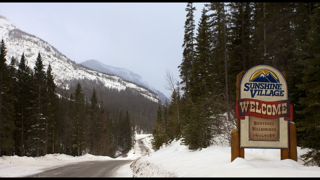 Where is Sunshine Village Ski Resort?