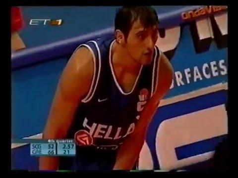 Nikos Chatzivrettas Full Highlights vs Serbia - 21 Points (Career High)