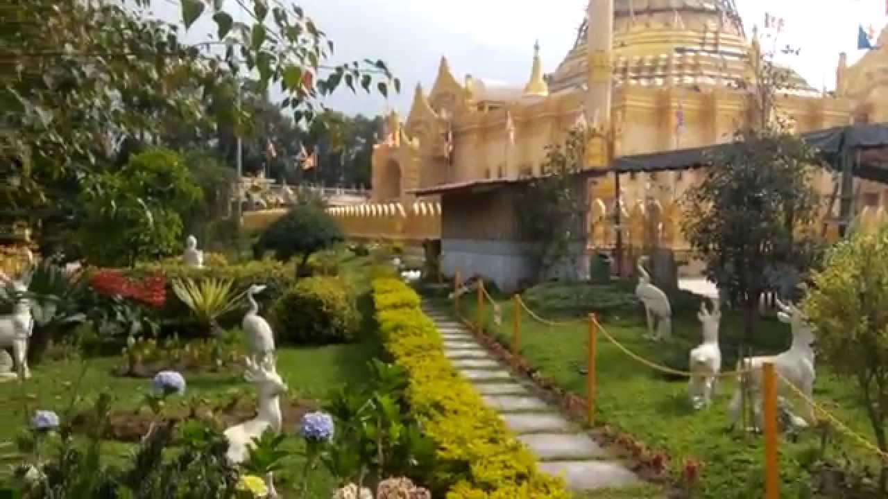 Menakjubkan Pagoda Emas Lumbini Berastagi Tertinggi Di Indonesia