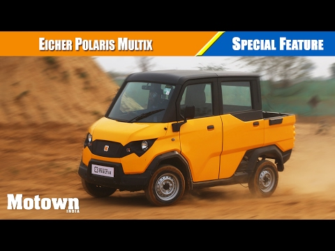 Eicher Polaris Multix First Drive