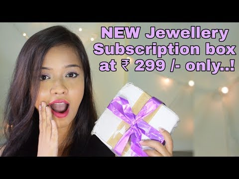Affordable Jewellery Subscription box @ 299 /- in India || The House of Pandora Subscription Box ||