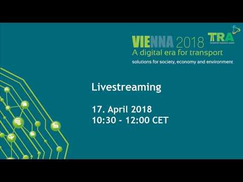 Livestream von TRA Conference 2018 in Vienna