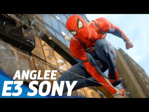 E3 2017 SONY   Spider-Man   God of War   Detroit   Days Gone   Shadow of the Colossus