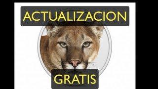 actualizando gratis a mac osx mountain lion