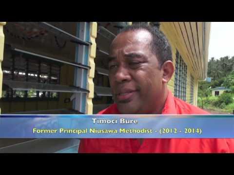 Fijian Prime Minister Tours Fiji's Garden Island Called Taveuni