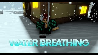 Roblox New Demon Slayer Game! Where To Get Water Breathing RPG!