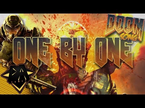 DOOM SONG (ONE BY ONE) LYRIC VIDEO - DAGames