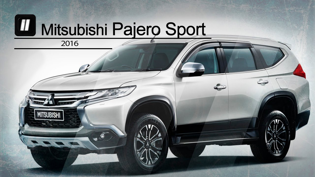 Mitsubishi pajero sport 2016. Обзор. - YouTube