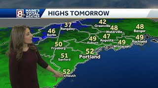 Chilly overnight as skies clear out; clouds return with a chance for showers Saturday