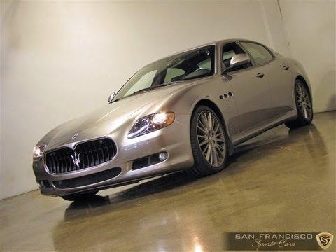 2010 Maserati Quattroporte Sport Gts For Sale Rare Limited