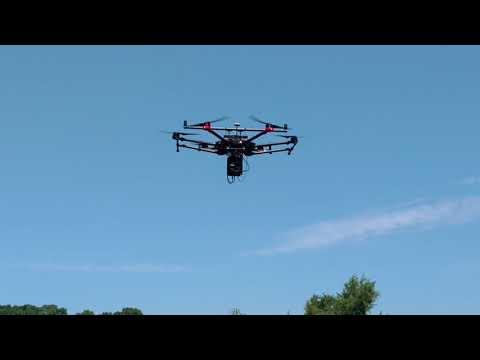 I3 Engineering Survey Drone - Landing
