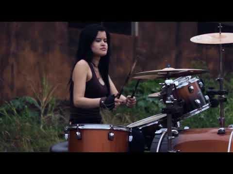 Preto no Branco - Me Deixe Aqui - Drum cover  by Kim