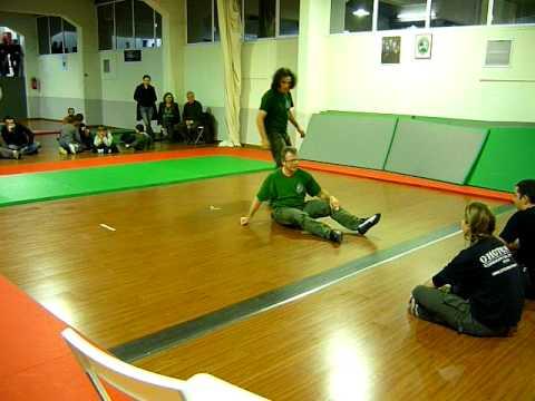 Greece-Systema, martial arts club demonstration