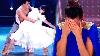 Pampita se emocionó hasta las lágrimas con el baile de Griselda Siciliani