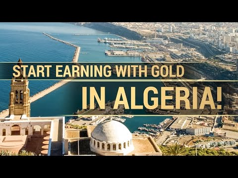 Become a Global InterGold client in Algeria!