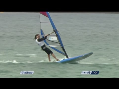 Sailing RS:X Women Opening Series (Race 8) - Full Replay -- London 2012 Olympic Games