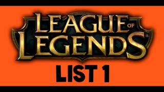 League Of Legends Accounts #1 - Checked 4th April