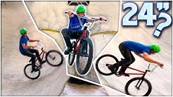 "24"" Cruiser BMX With Pegs!! - Ray's MTB Session"