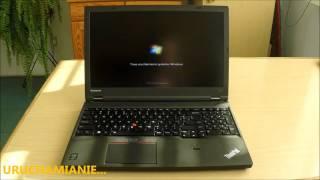 Lenovo ThinkPad W541 - Test prędkości uruchamiania i wyłączania