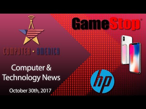 Computer And Tech News, GameStop Rentals, iPhone X Reveal, HP Forest Fire