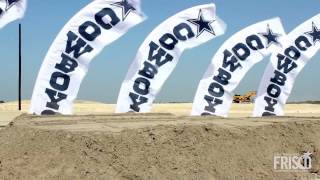 Dallas Cowboys Official Groundbreaking